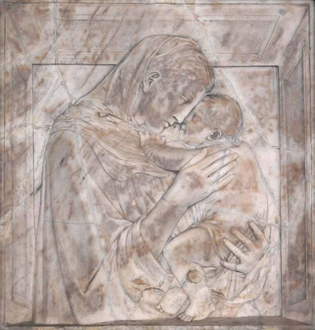 Donatello, Madonna col bambino (Madonna pazzi)