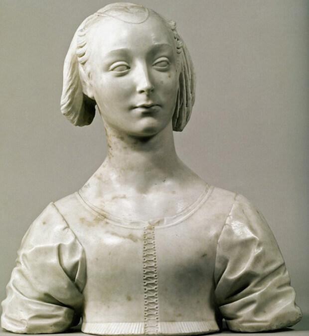 Desiderio da Settignano, Marietta Strozzi
