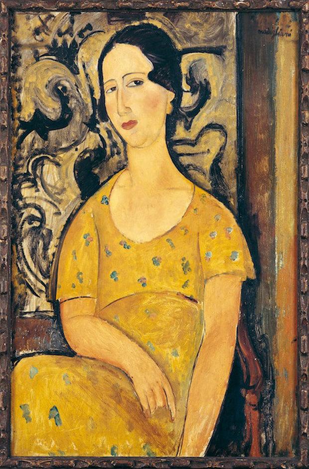 Modigliani - La bella spagnola o Madame Modot 1918. Olio su tela