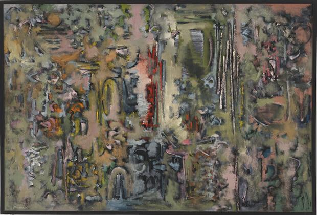 Ad (Adolph)Reinhardt. Numero 18, 1948-49
