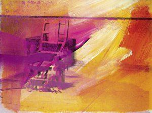 Sedia elettrica, 1971, serigrafia
