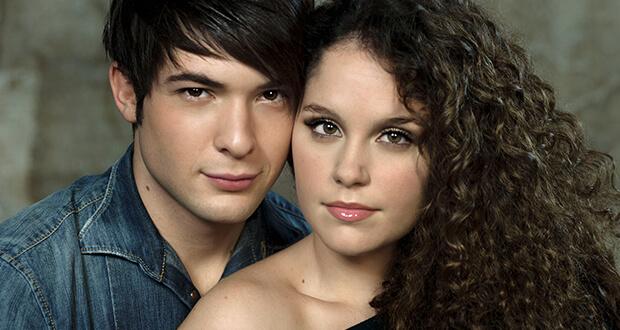 Davide Merlini (Romeo) e Giulia Luzi (Giulietta)