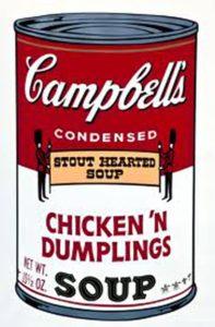 Zuppa di Pollo Campbell con riso, 1962