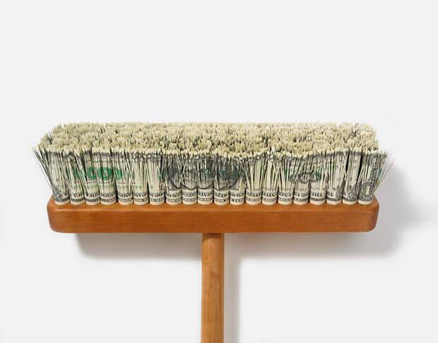 Very Expensive Push Broom, 2008 - Pavel Zoubok Gallery