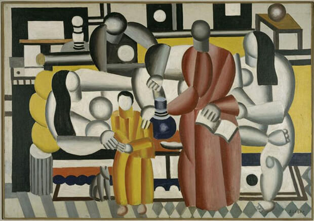 Fernand Léger. Donne in un treno, 1922