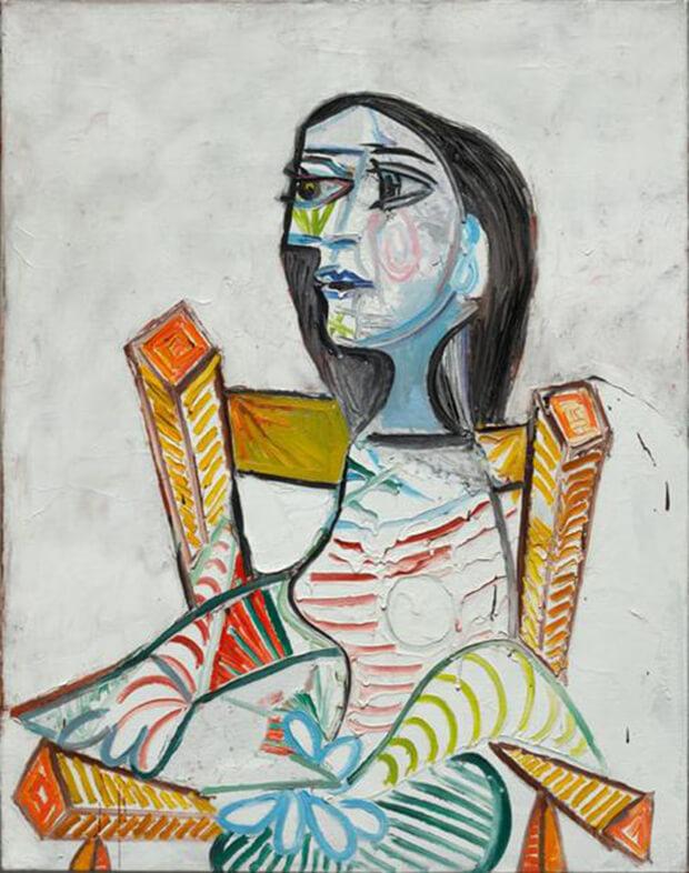 Pablo Picasso, Ritratto di donna, 1938, olio su tela, 98x77.5 cm