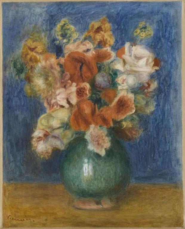 Pierre Auguste Renoir. Bouquet, 1901