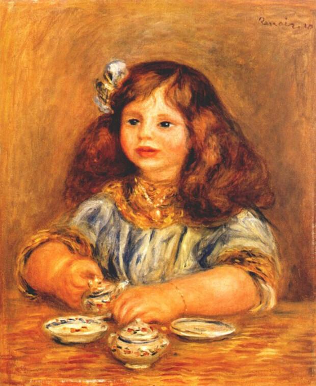 Pierre August Renoir. Geneviève Bernheim de Villers, 1910