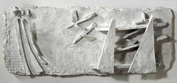 Fausto Melotti. Le Donne spaventate dagli Uccelli, 1946