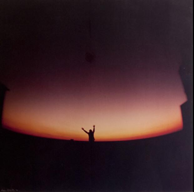 Luca Maria Patella. Verso la Rubedo, 1970, opera fotografica colore,  cm. 112,5x100