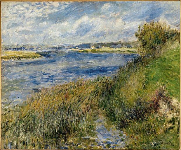 Pierre Auguste Renoir. La Senna a Champrosay, 1876