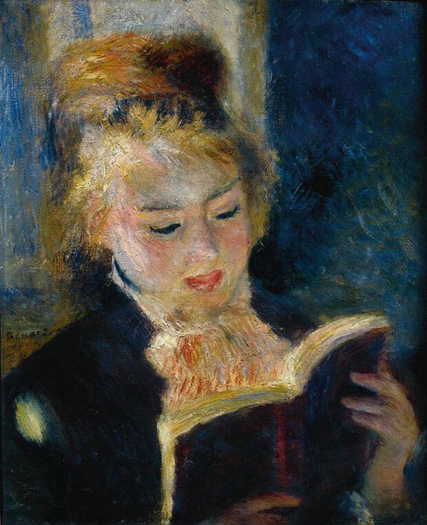 Pierre Auguste Renoir. La lettrice, 1874-1876