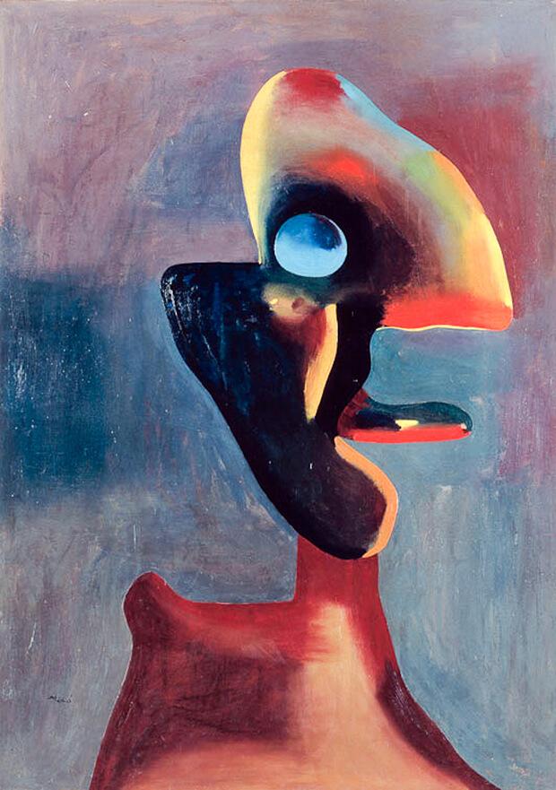 Joan Mirò. Testa d'uomo, 1935