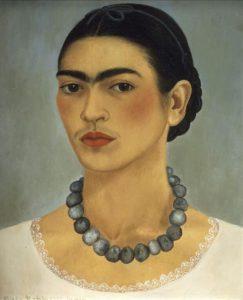 Autoritratto con collana, 1933