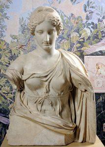 Afrodite,a marmo, età imperiale