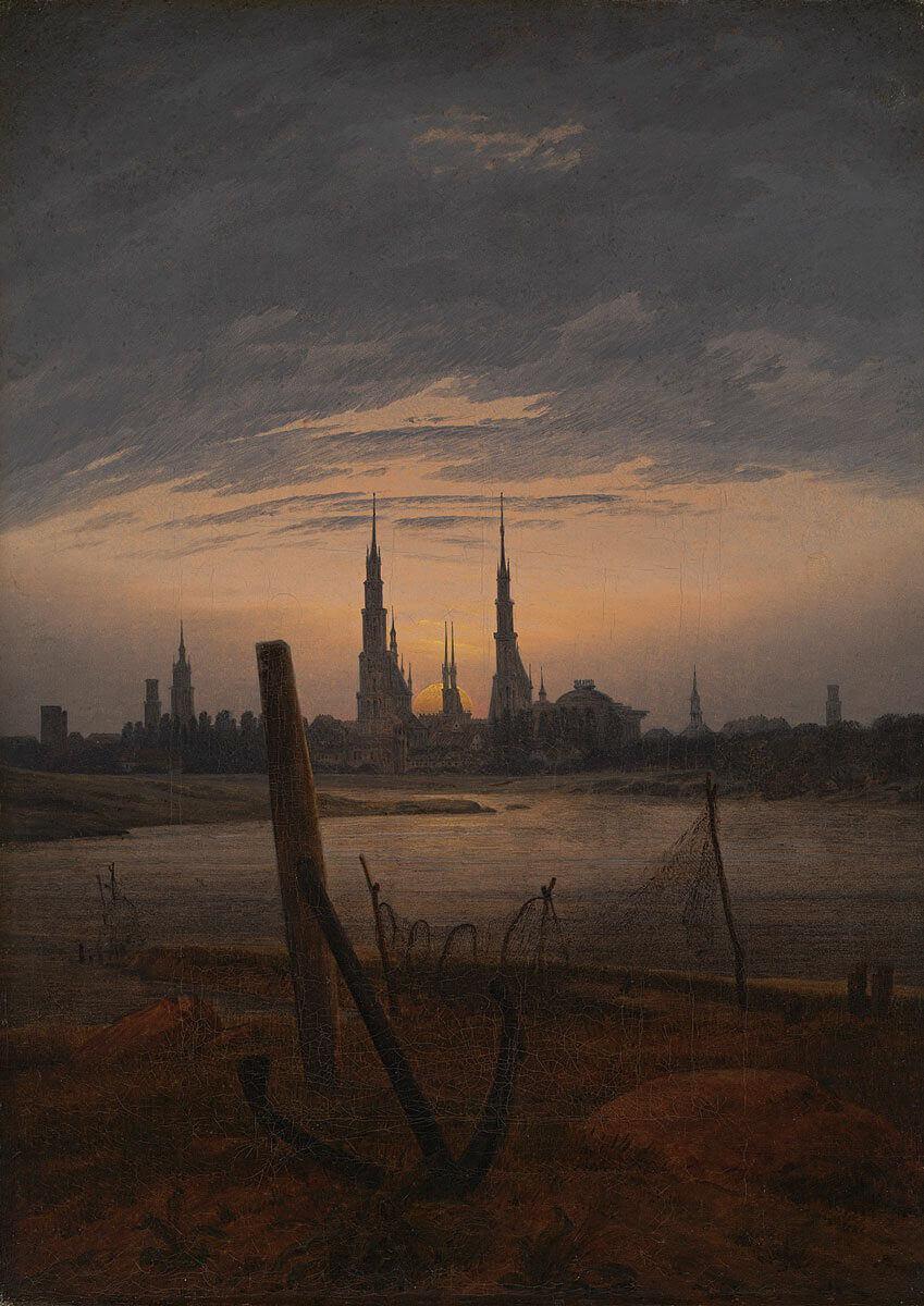 Da tutankhamon a van gogh nella basilica una mostra sui notturni - Il giardino al chiaro di luna ...