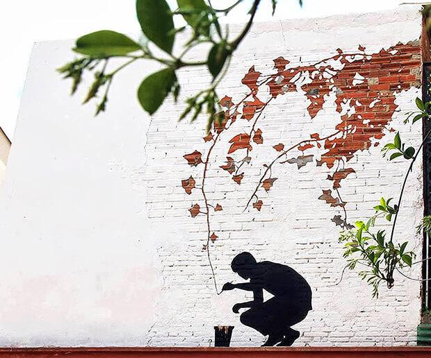 Street art by Pejak, Santander - Spain