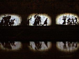 Trionfi e lamenti, fiume Tevere, Roma