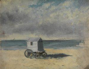 Carro per la balneazione , 1876