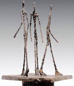 Tre uomini che camminano, II, 1949