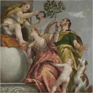 Allegorie dell'amore. L'unione felice, 1575, olio su tela, cm.  187,4×186,7