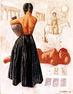 Les tziganes, 1928, olio su tela
