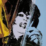 Andy Warhol - Drag Queen, 1975, serigrafia a colori su carta stampata fronte e retro