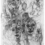 Antonin Artaud. Senza titolo, 1948. Centro Pompidou, Parigi
