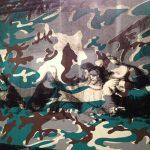 Andy Warhol - Camouflage, Last Supper da Leonardo