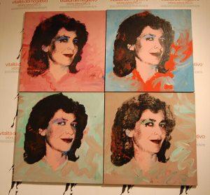 Graziella Lonardi Buontempo, serigrafia, 1984
