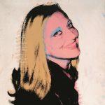 Andy Warhol - Ritratto di Carla, n. 1, serigrafia e acrilico su tela, cm. 100 x 100