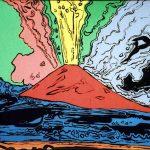 Andy Warhol - Vesuvius, 1985, serigrafia e acrilico su tela (3)