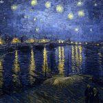 Vincent van Gogh. Notte stellata sul Rodano, 1888. Olio su tela, cm. 72.5 × 92. Museo d'Orsay, Parigi