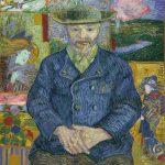 Vincent van Gogh. Ritratto di Pere Tanguy, 1887-88. Museo Rodin, Parigi