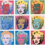 Andy Warhol - Ritratto di Marilyn Monroe, serigrafia, 1967
