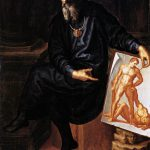 Baccio Bandinelli - Autoritratto, 1530, olio su tela cm. 147 x 112