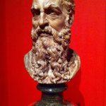 Baccio Bandinelli - Autoritratto, 1555-57, terracotta. Ashmolean Museum, Oxford