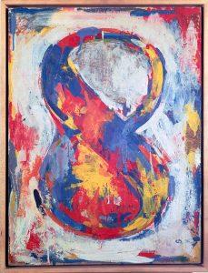 Jasper Johns. Figura otto, 1959