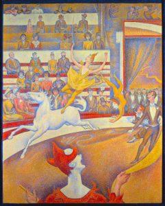 Il Circo, 1890 - 1891. Musée d'Orsay Parigi