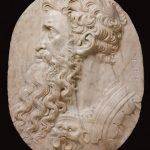 Baccio Bandinelli - Profilo di testa barbuta, 1550