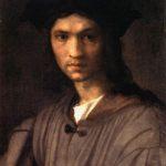 Andrea Del Sarto - Ritratto di Baccio Bandinelli, olio su tela di Andrea Del Sarto