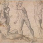 Baccio Bandinelli - Studio di nudi in combattimento