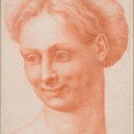 Baccio Bandinelli - Testa di una donna che porta una ghirlanda
