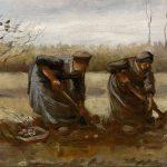 Vincent van Gogh. Contadine che raccolgono patate, 1885, olio su tela