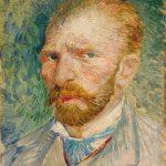 Vincent van Gogh. Autoritratto, 1887, olio su cartone