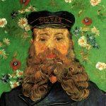 Vincent van Gogh. Ritratto del postino Joseph Roulin, olio su tela