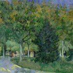 Vincent van Gogh. Sentiero in un parco, 1888, olio su tela. cm 72,3 x 93