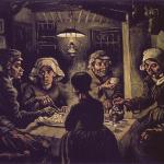 Vincent van Gogh. Mangiatori di patate, 1885, olio su tela, cm. 82 × 114