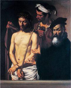 Caravaggio. Ecce homo, 1605. Musei-di-strada nuova. Palazzo bianco, Genova