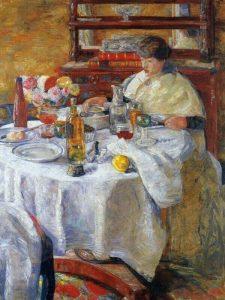 La mangiatrice di ostriche, 1882
